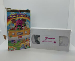 Barney & Friends - Barneys Adventure Bus (VHS, 1997) TESTED PLAYS WELL!