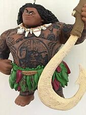"Disney Moana Maui Demigod Holiday Christmas Tree Ornament Pvc Figure 4.5"" New"