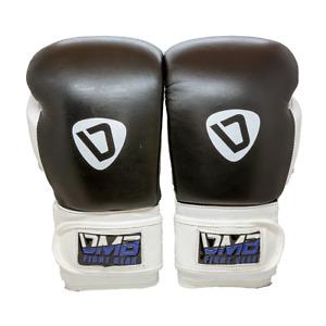 DMB Blue G2 Leather Boxing Gloves - Black, White, Blue (NEW) Retail $59.99