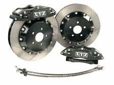 VT VX VY VZ Black big brake upgrade kit front 6 Pot 355mm Holden Commodore XYZ