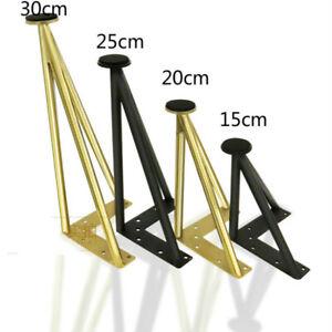Furniture Cabinet Table Leg DIY Hairpin Feet Adjustable Height Sofa Foot Legs