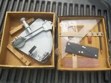 Antique WWII  U.S. Maritime Commission Cruver Mfg Lifeboat navigation SEXTANT