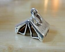 Sterling Silver 3D 24x12mm 3-4 G Scouts Soap Box Derby Style Voiture Charm