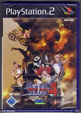 PS2 Metal Slug 4 (2005), versión alemana, Reino Unido PAL, totalmente nuevo y sellado de fábrica de Sony