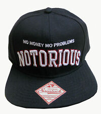 NWT brooklyn mint NOTORIOUS BIG BIGGIE SMALLS Mo Money Mo Problems SNAPBACK HAT