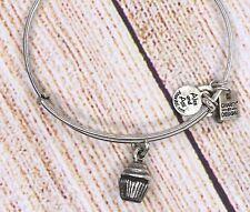 Alex and Ani Cupcake Silver Bracelet