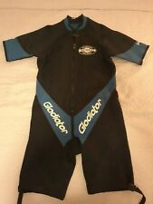 GLADIATOR GOLD SERIES WETSUIT mens SIZE XXL Pro-Formance MADE IN US Black & Blue