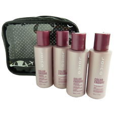 JOICO Travel Care Set - Colored Dyed Hair - Shampoo Conditioner Rinse - 5pc
