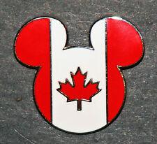 MICKEY MOUSE EARS WALT DISNEY WORLD EPCOT 2002 CANADA CANADIAN FLAG DISNEYLAND