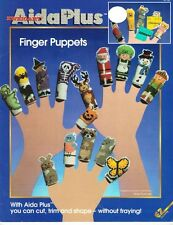 EZ Crafts Zweigart AidaPlus FINGER PUPPETS for Counted Cross Stitch #4750