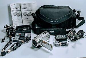 Sony Handycam Camcorder DCR-SR300 Digital Video Camera Recorder W/ Case