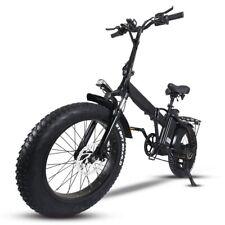 Bicicletta elettrica Pieghevole Alluminio Brushless FatBike 500W 40km Bonus Bici