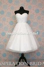 Beading Lace Scoop Neck Sleeveless Wedding Dresses