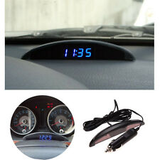 LED Digital Panel Car Calendar Clock Thermometer Temperature Volt Voltmeter 12V