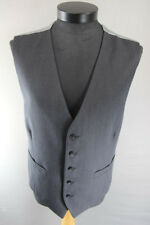 BRAND NEW GARETH SOUTHGATE ENGLAND STYLE WOOL RICH CHARCOAL WAISTCOAT 46 & 50 IN