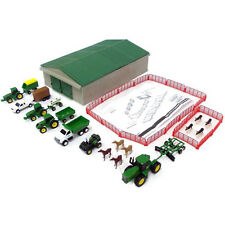 John Deere Value Set Farm Toy Machine Tractor Vehicle 1:64 Scale 70 PC