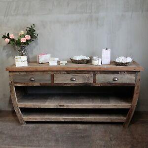 Sideboard wood table - handmade