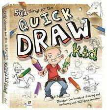 501 Things for the Quick Draw Kid by Hinkler Books PTY Ltd (Hardback, 2012)