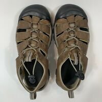 KEEN Newport Sport Sandals Shoes Mens Sz 8 Brown Slip On Trail Hiking Outdoor