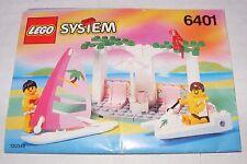 1992 LEGO Paradisa Seaside Cabana (6401) INSTRUCTION MANUAL