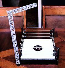 WWE Mattel Super Strikers Turnbuckle Takedown Ring Playset for Wrestling Figures