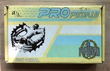 "9/16"" Bear Trap Pedals Black BMX MTB Vintage USED"