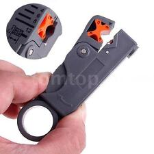 Rotary Coaxial Cable Stripper Cutter Tool For RG59/6/58