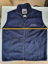 Genuine Madoff Securities Fleece Jerkin in Dark Blue - from London Office