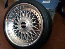 CERCHIO in acciaio inox Split Ruota Bullone/vite Ricostruire Kit Si Adatta BMW BBS RC010 RC090