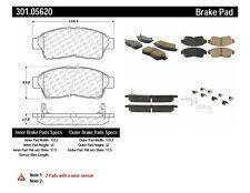 106.07410 FRONT SET Posi Quiet Extended Wear Brake Disc Pads + Hardware Kit