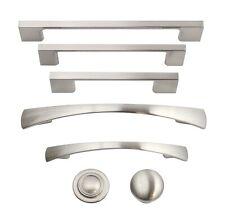 Brushed Satin Nickel Kitchen Cabinet Hardware Knobs Pulls Handles Hardware