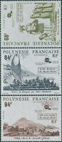 French Polynesia 1991 Sc#560-562,SG610-612 Maori World set MNH