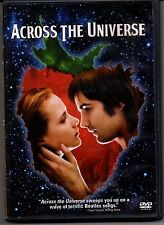 Across the Universe DVD (1 Disc Edition) Beatle's Songs Musical 60s War Protest