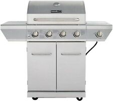 Outdoor Gas Grill Stainless Steel 4 Burner Propane BBQ Patio Cooking Barbecue