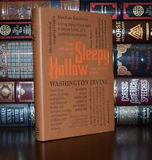 Legend of Sleepy Hollow Rip Van Winkle by W. Irving Deluxe Soft Leather Feel Ed