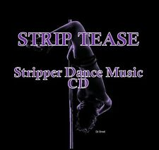 STRIP TEASE MUSIC CD》SEXY STRIPPER DANCER SONGS》R&B》HIP HOP》DANCE PARTY MIXES