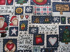 Vintage 100% Cotton fabric Squares and Rectangles