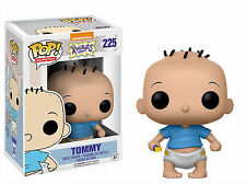 "RUGRATS TOMMY 3.75"" POP VINYL FIGURE FUNKO 225 NICKELODEON UK SELLER"