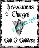 NEW Invocations God Goddess Wicca Book of Shadows 1 Parchment pg Pagan Spells