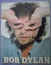 BOB DYLAN TOUR PROGRAMME CIRCA 1974 Classic Rock Folk Singer Songwriter Program