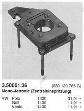 Bride souple (embase) pour mono-jetronic - VW Polo 1.3 - Golf  Vento 1.4