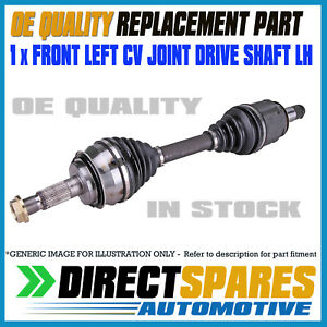 OEM QUALITY HYUNDAI EXCEL X3 1.5L 10/94 - 03/00 LEFT CV Joint Drive Shaft LH