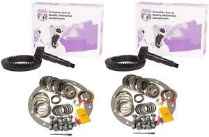 "93-07 F350 Ford 10.25"" Dana 60 5.13 Ring and Pinion Master Kit Yukon Gear Pkg"