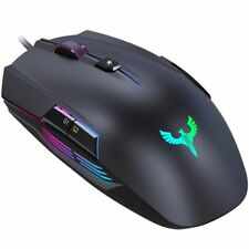 Blade Hawks GM-X5 Wired Gaming Mouse Programmable LED Backlit 4000 dpi