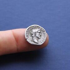 More details for imperial roman silver coin denarius of antoninus pius c 138 ad