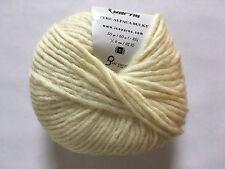 Peru Alpaca Bulky Yarn Buttercream #48703 Ice 50g Merino Wool Alpaca Acrylic