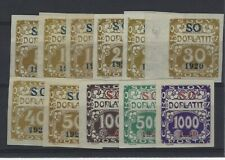 SILESIE ORIENTALE  Taxe n° 1/11 neuf avec charnière