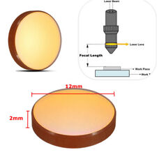 12mm Dia CO2 Laser Engraver Cutter Machine ZnSe Focal Focus Lens FL 50.8mm