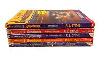 Goosebumps Books~Lot of 5 Books~R.L.Stine~Kids Horror~Scary Stories