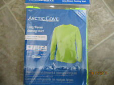 Arctic Cove Long Sleeve Cooling Shirt -Extra Large (Safety Yellow)